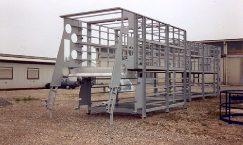 Metal Structure Works and Frames for Food Industry